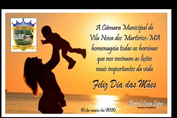 Câmara deseja um Feliz Dia das Mães